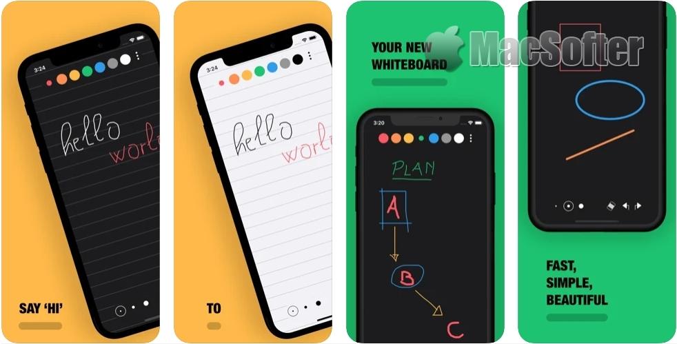 [Mac/iPhone/iPad限免] NiBoard :具有素描绘图功能的笔记软件