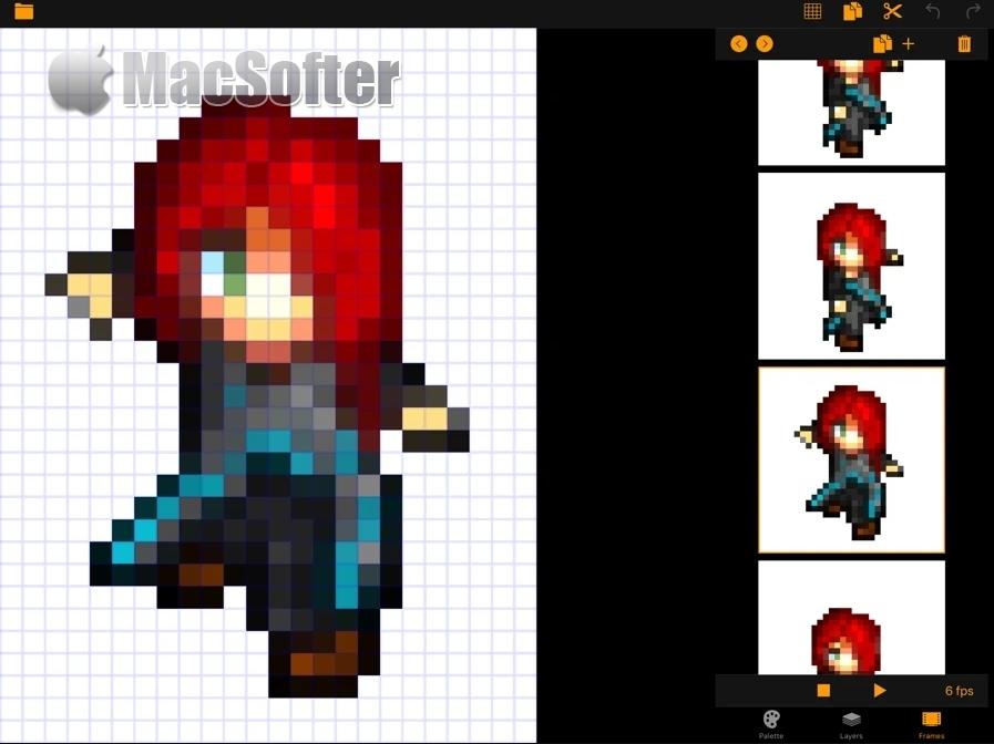 [iPhone/iPad限免] Pixel Art Pro : 像素风格艺术画创作工具