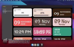 [Mac/iPhone限免] Pixel 小工具 :像素画风的桌面小工具