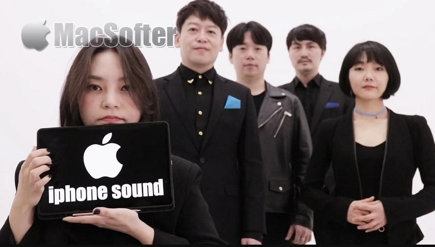 韩团无伴奏合唱iPhone经典铃声:更胜苹果原厂铃声更好听