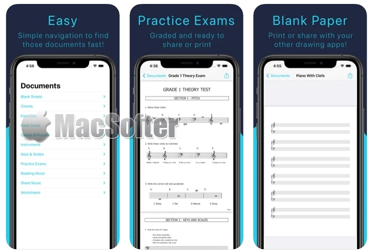 [Mac/iPhone/iPad限免] Music Resource‪s‬ : 音乐学习软件