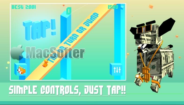 [iPhone/iPad限免] Tappy Dash :考验反应力的游戏