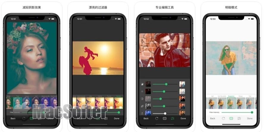 [iPhone限免] SubtleColor :照片减淡阴影效果滤镜工具