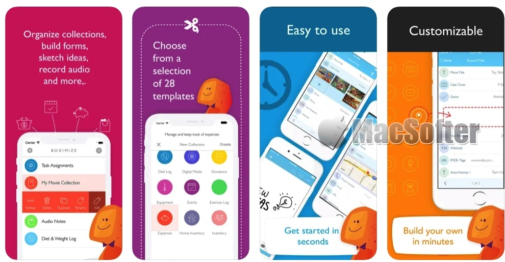 [iPhone/iPad限免] Boximize :万能的记事记录工具