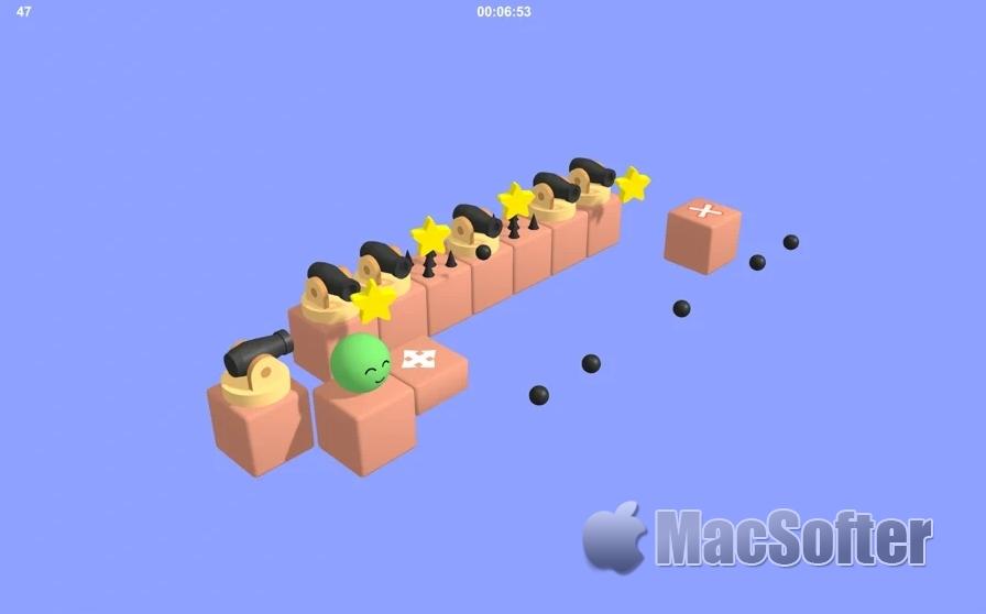 Jump Ball for Mac:弹球益智休闲游戏