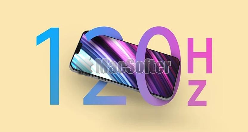 iPhone 13可能采用低功耗120Hz高刷LTPO屏幕