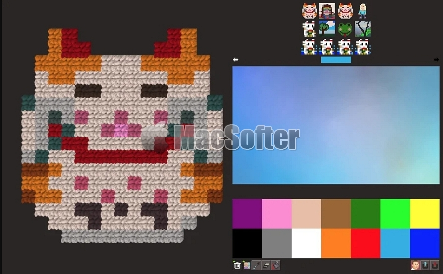 [Mac/iPhone/iPad限免] Swift Pixels :像素艺术绘图软件