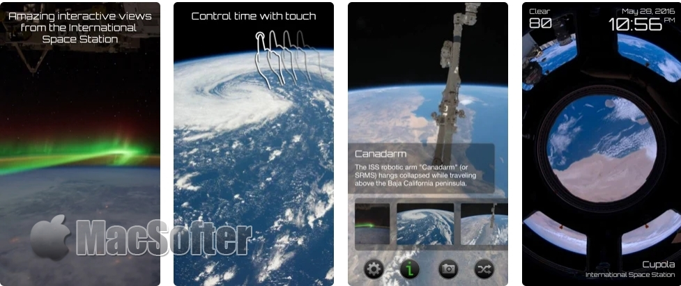 [iPhone/iPad限免] Earthlapse : 国际空间站视角俯瞰地球