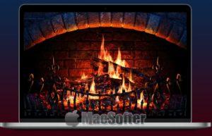 Fireplace 3D for Mac :逼真的壁炉屏幕保护程序