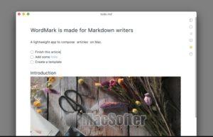WordMark 3 for Mac : 简约的Markdown编辑器