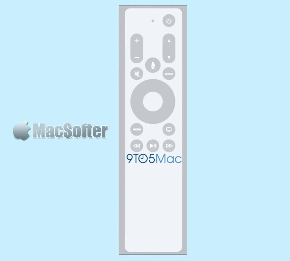 tvOS 14.5 Beta提前将新Apple TV遥控曝光?