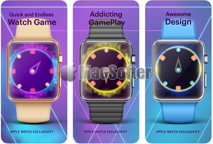 [iPhone限免] Watch Catch : 为Apple Watch设计的射击游戏