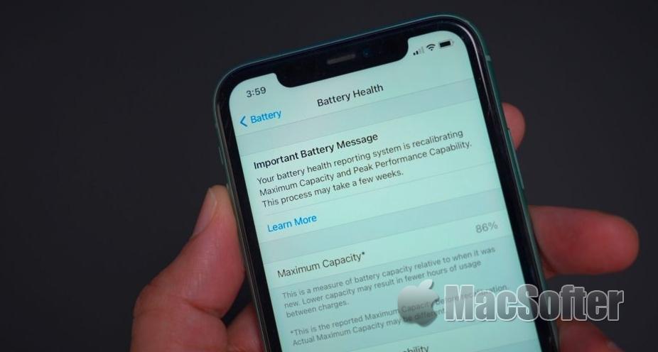 苹果iOS新专利:系统实时预测iPhone 电池耗尽时间