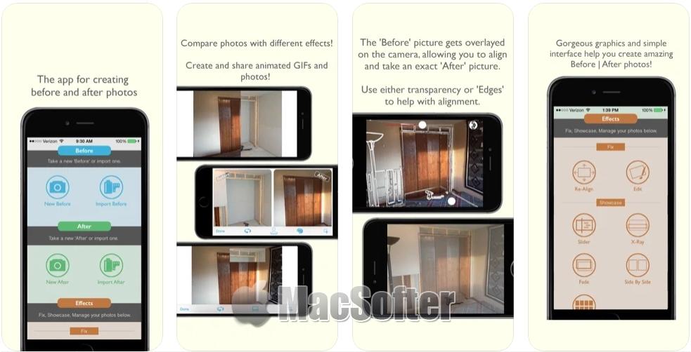 [iPhone限免] Before | After : 前后效果对比相机软件