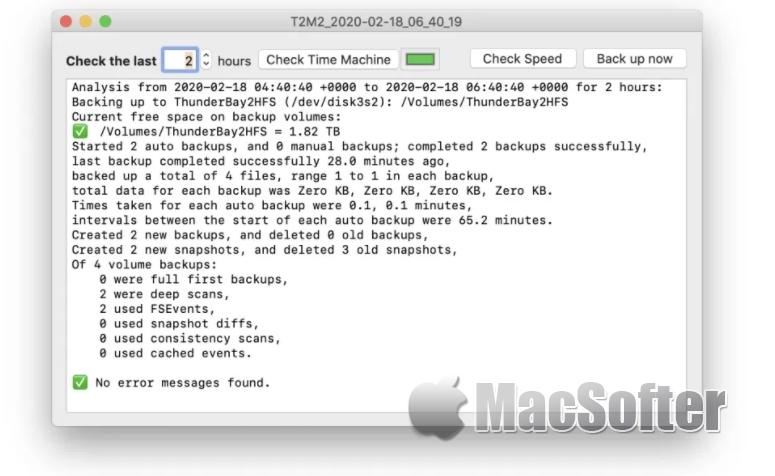 [Mac] The Time Machine Mechanic : Time Machine备份检查工具