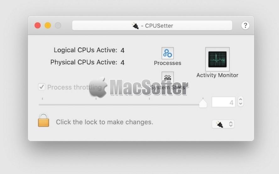 [Mac] CPUSetter : 调整CPU处理器工作核心数的工具
