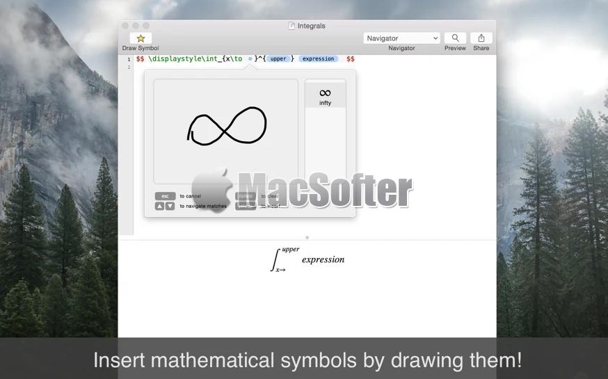 [Mac] Archimedes : 支持LaTeX的Markdown编辑器
