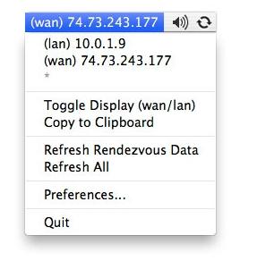 [Mac] IP Broadcaster : 显示本机IP的菜单栏工具