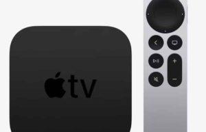 Apple TV 4K 2021版本遥控器取消了陀螺仪及加速器