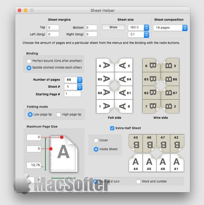 [Mac] Sheet Helper :平面设计打印排版设计工具
