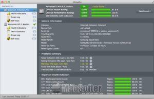 [Mac] DriveDx : 苹果电脑硬盘健康度和剩余寿命检测工具