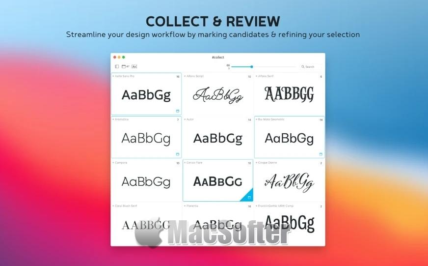 [Mac] Typeface 3 :好用的Mac字体管理工具