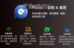 [Mac] Picsee :Mac好用的看图截图工具