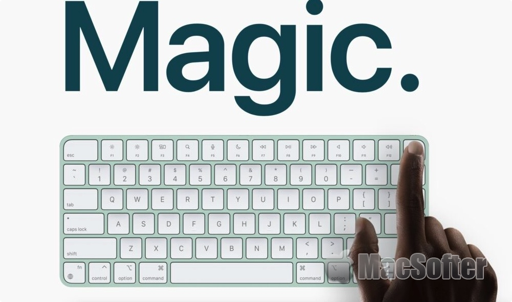 新Magic Keyboard为所有M1 Mac加入Touch ID