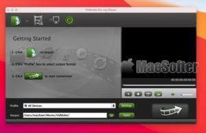 [Mac] VidMobie Blu-ray Ripper : 蓝光光盘及DVD格式转换复制工具
