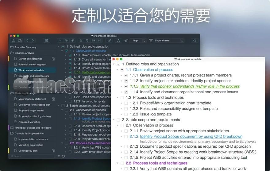 [Mac] Cloud Outliner Pro : 强大的交互式笔记软件