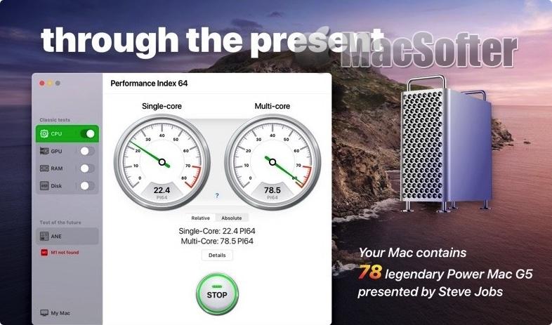 [Mac] Performance Index 64 Pro : Mac系统性能检测工具