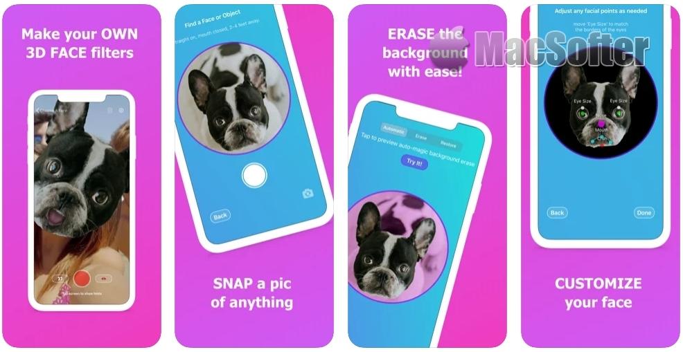 [iPhone/iPad限免] FaceReplaced : 照片AI换脸工具