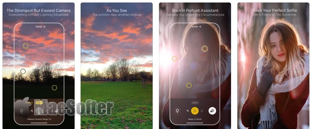 [iPhone限免] Lightsynth :自适应动态范围相机软件