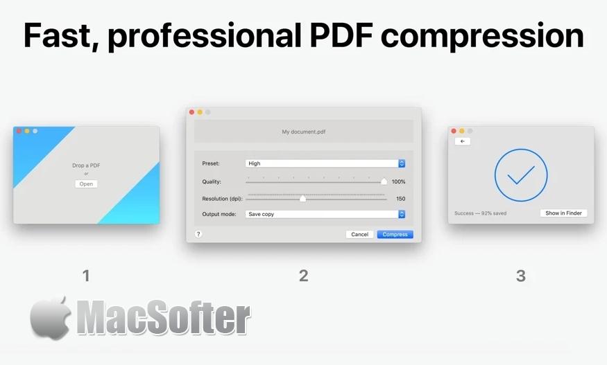 [Mac] PDF Shrink : Mac的PDF文件压缩工具