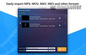 [Mac] Any Video Joiner : Mac的视频片段合并工具
