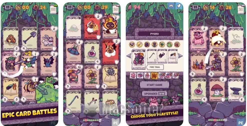 [iPhone/iPad限免] Card Hog : 魔法猪地下城卡牌游戏