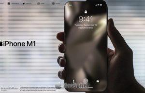M1版iPhone概念设计欣赏:竟这样干掉刘海