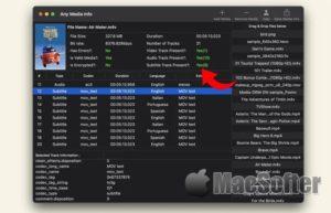 [Mac] Any Media Info :Mac的视频及音频文件信息查看工具