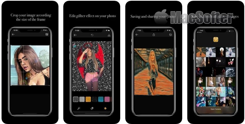 Shine :照片闪光效果特效软件