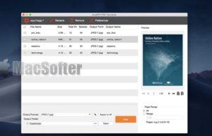 [Mac] AnyMP4 PDF转换器阅读器 : Mac的pdf文件转图片格式工具