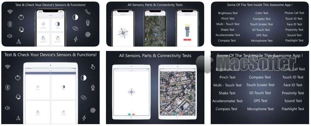 [iPhone/iPad限免] Check My Device :iPhone、iPad硬件测试工具