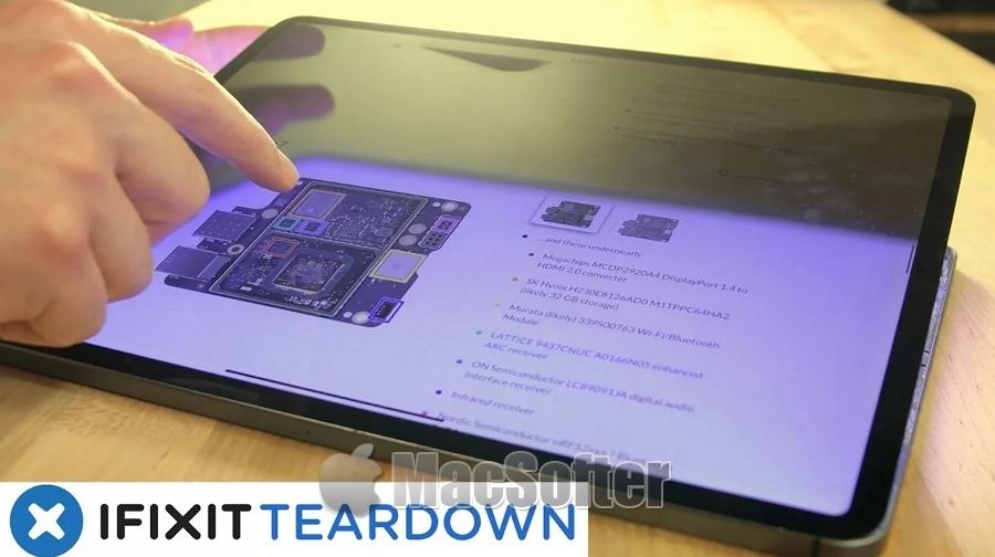 M1 iPad Pro拆解视频欣赏:深入了解 Mini‑LED XDR屏幕