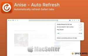 [Mac] Anise : Mac的Safari网页标签定时自动刷新工具
