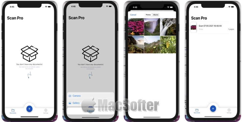 [iPhone/iPad限免] Scan Pro Elite :高清文档及照片扫描工具