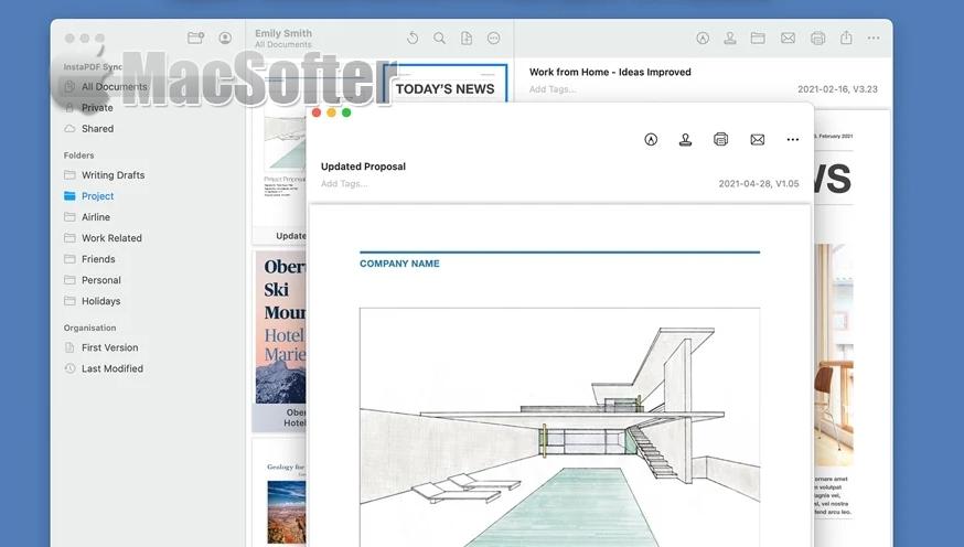[Mac] InstaPDF : Mac的PDF标注及管理工具