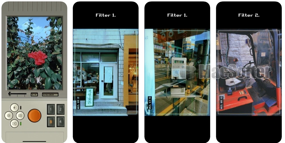 [iPhone限免] NTRO Cam :复古风格相机软件