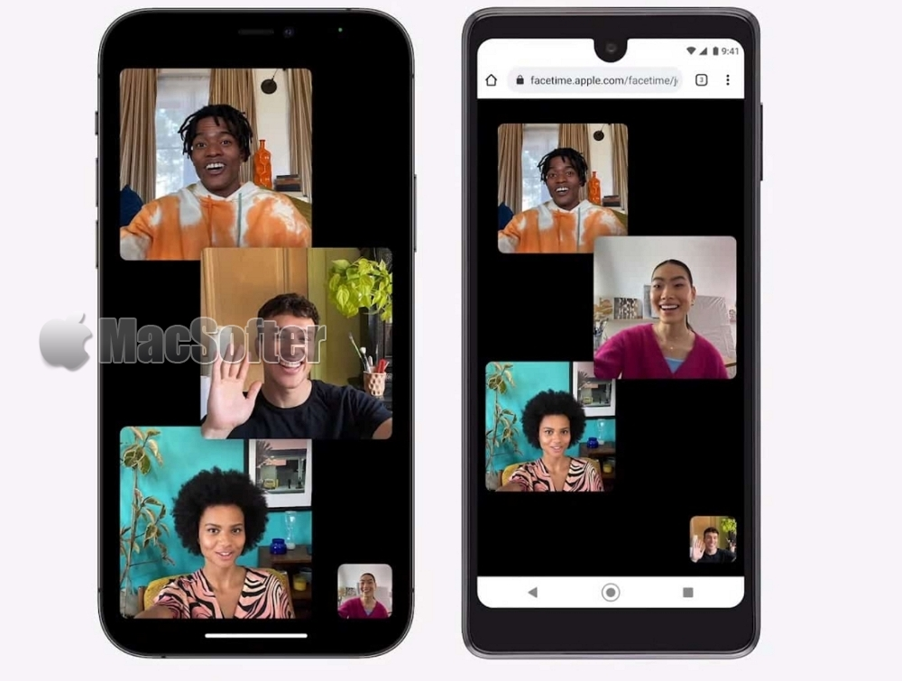 iOS 15 FaceTime大改进:Android 用户也可用