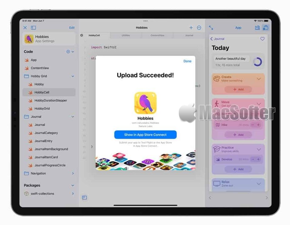 iPad未来可直接开发App并上传至 App Store