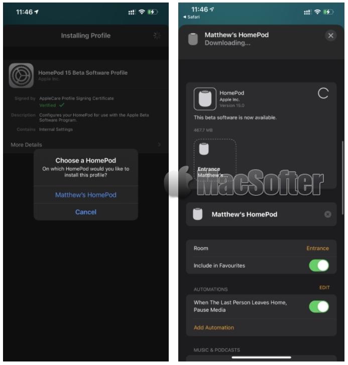 HomePod推出audioOS 15可调节Siri音量和低音效果(附升级教程)