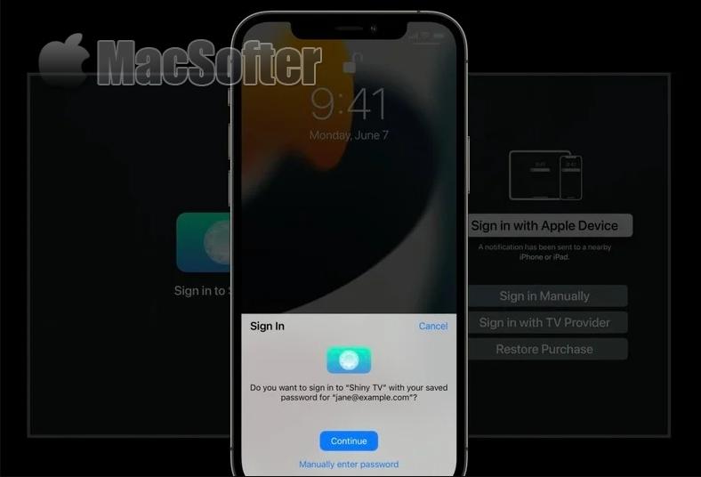 Apple TV新功能:可用 iPhone脸部/指纹快速登录应用